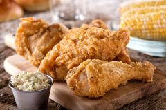 Free Crispy Fried Chicken Royalty Free Stock Photos - 122556048