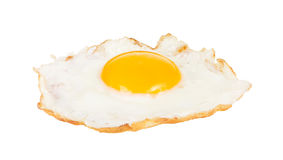 Crispy fried chicken egg isolated Royalty Free Stock Photo