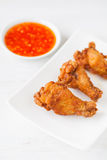 Crispy fried chicken lag Royalty Free Stock Image