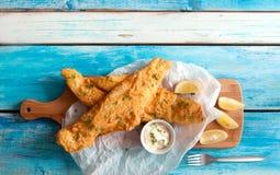 Crispy fried fish Stock Photos