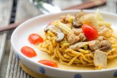Crispy fried noodle Stock Photography