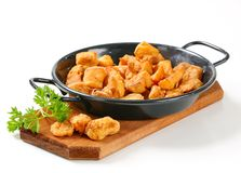 Crispy fried pork greaves Royalty Free Stock Photography