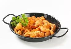 Crispy fried pork greaves Stock Photo
