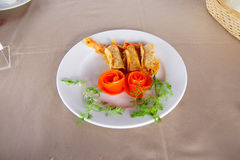 Crispy fried shrimp Stock Image