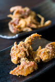 Crispy fried soft shell crab Stock Images