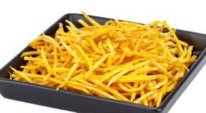 Crispy fried Sweet Potato Stick Stock Image