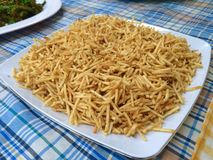 Crispy fries Royalty Free Stock Photos