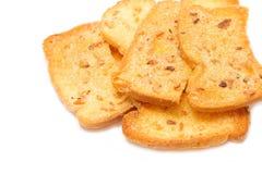 Crispy garlic bread Royalty Free Stock Image