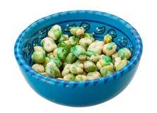Crispy green peas stock photo