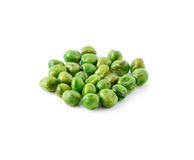 Crispy green peas isolated Stock Photography