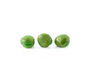 Crispy green peas isolated Royalty Free Stock Photo