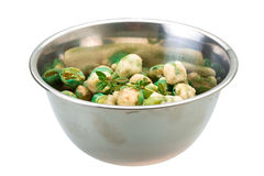 Crispy green peas Royalty Free Stock Photos