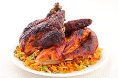Crispy Grilled chicken Royalty Free Stock Photo