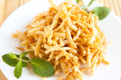 Crispy honey dessert - Oriental sweets Stock Photos