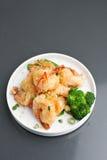 Crispy Honey Shrimp Stock Images