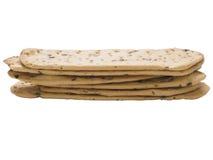 Crispy italian flatbread Stock Photos