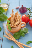 Crispy italian Grissini snack Stock Photography