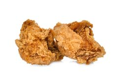 Free Crispy Kentucky Fried Chicken Isolated On White Royalty Free Stock Photography - 108211687