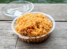 Crispy klusek przekąski jedzenia kleisty upakowany klingeryt Zdjęcie Stock