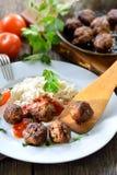 Crispy meatballs Royalty Free Stock Image