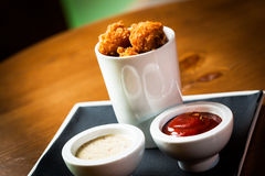 Crispy nuggets Royalty Free Stock Photos