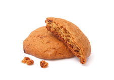 Crispy Oatmeal Cookies Stock Photography