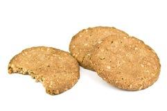Crispy Oatmeal Cookies Stock Photo