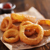 Crispy onion rings Stock Photography