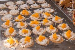 Crispy pancake Royalty Free Stock Photos