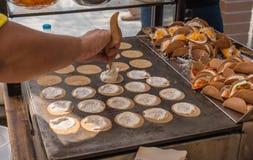 Crispy pancake Stock Image
