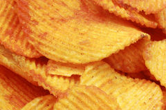 Crispy paprika chips Royalty Free Stock Image
