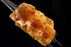 Crispy paprika chips Royalty Free Stock Image