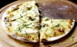Crispy pizza Stock Image