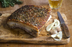 Crispy pork belly Royalty Free Stock Photography