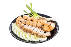 Crispy pork Royalty Free Stock Photos