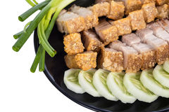 Crispy pork Stock Photo