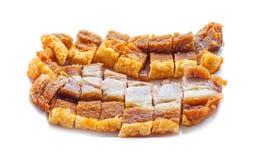 Free Crispy Pork Slice Isolated On White Background Royalty Free Stock Images - 72924669