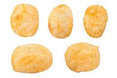 Crispy potato chips Stock Image