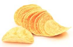 Crispy potato chips Stock Images