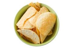Crispy potato chips Royalty Free Stock Image
