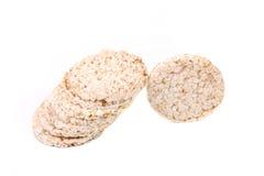 Crispy puffed rice snacks. Stock Image