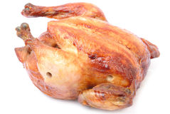 Crispy Roast Chicken Royalty Free Stock Photo