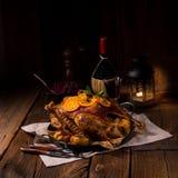 Crispy Roast goose. A tasty Crispy Roast goose royalty free stock images