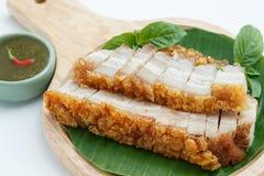 Crispy roasted pork royalty free stock image