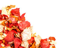 Crispy Root Vegetable chips Royalty Free Stock Photography