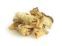 Crispy salmon skin Royalty Free Stock Photos