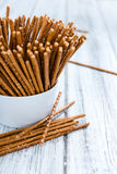 Crispy Salt Sticks Royalty Free Stock Photo