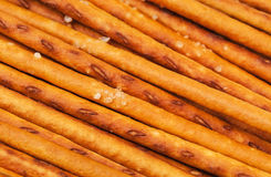 Crispy salted sticks Royalty Free Stock Images