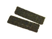 Crispy seaweed isolated on white background Royalty Free Stock Photography