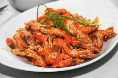 Crispy shrimp Royalty Free Stock Images